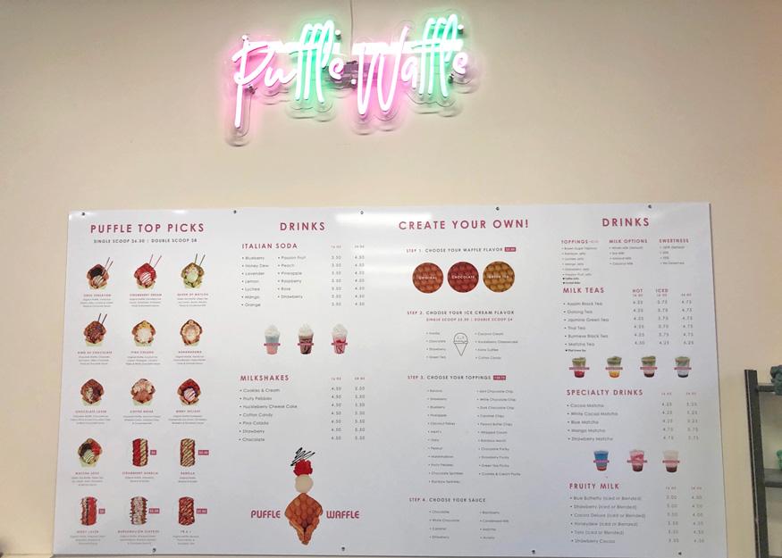 포틀랜드 맛집 – Puffle Waffle 버블와플